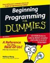 Beginning Programming for Dummies (W/CD)