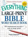 Everything Large-Print Bible Word Search Book