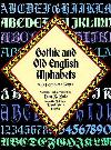 Gothic & Old English Alphabets: 100 Compl. Fonts