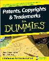 Patents, Copyrights & Trademarks for Dummies (*W/CD)